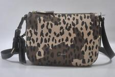 New With Tag Furla Emma Medium Leather Crossbody shoulder Bag 852336-Toni Safari