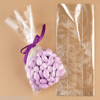"11"" x 3"" Cellophane Gusset Bags - Quality Display Bags, Sweets, Crafts"