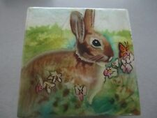 Rabbit Capiz Shell Trinket Box 1518*