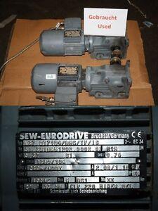 Sew 0,37 Kw 106 Minimum Motoréducteur Boîte de Vitesse