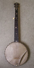 More details for s.s. stewart 6 string banjo - very rare