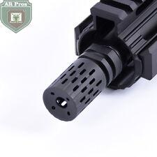 BattleComp steel .223 1/2x28 Thread Muzzle Brake with Jam Nut +Crash Washer