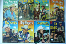 Roy Rogers comic books Golden age lot 8 issues good very good