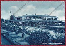 LUCCA FORTE DEI MARMI 59 LA CAPANNINA Cartolina viaggiata 1954