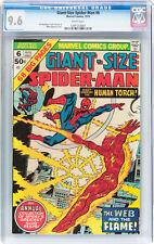 Giant-Size Spider-Man #6 CGC 9.6 1975 Fantastic Four! Avengers! X-Men! E5 121 cm