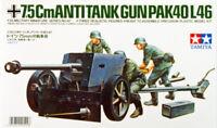 Tamiya 35047 German 75mm Anti Tank Gun (PAK40/L46) 1/35 scale kit