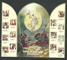 Holy card lamina de Jesus santino holy card estampa