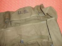 U.S.ARMY:M-1945 GENERAL PURPOSE BAG WITH WATERPROOF LINER, NICE