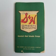 S&H Green Stamps Book Full Sperry & Hutchinson JJ