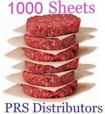 Hamburger Waxed Paper 1000 sheets DRY WAXED Deli Paper Cheese waxed Patty Paper