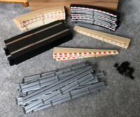 Scalextric Bundle - Straight Track, Barriers & Borders Accessories