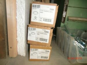 """150 New 1-1/2"""" Conduit Locknuts, Surplus Hubbell Raco fits Crouse-Hinds 3 boxes"""