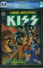 Marvel Super Special #5 CGC 9.4 1978 Kiss! Comics! WHITE Pages! K4 151 1 cm