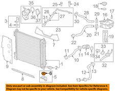 Cadillac GM OEM 12-16 SRX 3.6L-V6-Radiator Lower Insulator 20818756