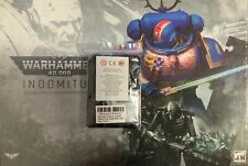 Warhammer 40k Indomitus Box Set + limited pre order counters + Coin - NEW/SEALED