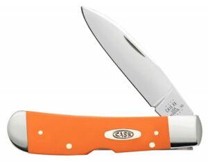 Case xx Tribal Lock Knife Orange Synthetic 80513 Stainless Pocket Knives