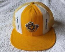 CAL GOLDEN BEARS AJD mesh snapback hat; RARE VINTAGE CAP: USED, GREAT CONDITION!