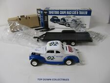 Wix Filters 1940 Ford Coupe Race Car & Trailer   Ertl Collectibles  New In Box