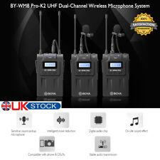 Boya BY-WM8 Pro-K2 UHF Dual-channel Wireless Microphone System Universal