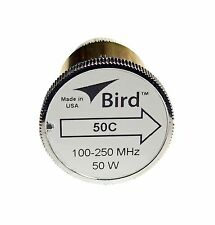 Bird 50C Plug-in Element 0 to 50 watts for 100-250 MHz for Bird 43 Wattmeters