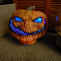 Horrible pumpkin Light Battery Powered Lamp Halloween Party Holiday Decor GIFT