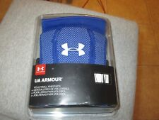 UNDER ARMOUR UNISEX VOLLEYBALL KNEE PADS (MEDIUM) NWT $25 BLUE W/WHITE LOGO NICE