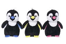 """NEW CHILDRENS 10"""" SPARKLE EYE PENGUIN PLUSH SOFT TOYS PENGUINS"""