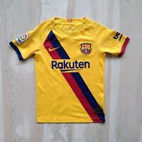 Messi Barcelona Jersey Away football shirt 2019 - 2020 Nike AJ5800-728 Young S