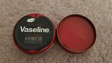BRAND NEW VASELINE LIMITED EDITION - MIRROR RED APPLE LIP THERAPY 20G TIN RARE