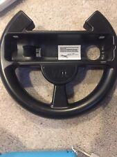 Nintendo Wii Black Racing Steering Wheel for Mario Kart Genuine OEM
