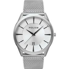 Watch Police Patriot R1453296001 Quartz (battery) Analogue Only Time Steel Silve