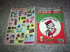 ALBUM STORIA DEL RISORGIMENTO ITALIANO PANINI 1969 OTTIMO+203 FIGURINE+5 ADESIVI