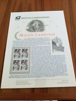 #442 29c Moon Landing Anniversary #2841a USPS Commemorative Stamp Panel MNH