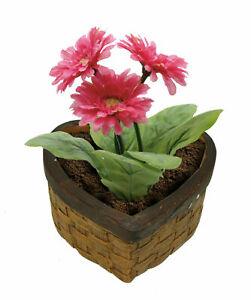Heart Ceramic Home Decor Gifts Gardening Planting Flowers Flower Pot