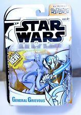 Star Wars Clone Wars animated General Grievous Cartoon Network action figure NIP