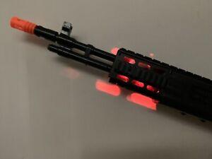 Kids Realistic TD2015 Combat Toy Gun Soldier Army Machine Lights Sound Vibration