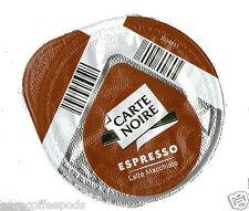 50 x tassimo carte noire café espresso T-Discs (loose) expresso dosettes pour latte