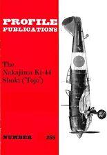 NAKAJIMA Ki-44 SHOKI TOJO: PROFILE #255/ NEW PRINT/ 6 ADDED PAGES + A3 FOLDOUT