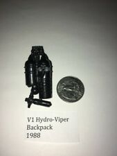 "Vintage backpack for (v1) Cobra ""Hydro-Viper"" GI Joe 1988 ARAH"