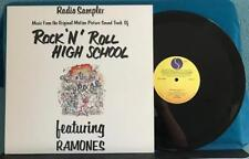 RAMONES ROCK N ROLL HIGH SCHOOL OST RADIO SAMPLER~NM/NM 1979 PROMO LP~STERLING