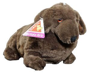 Dakin Pampered Pets Baron Plush Stuffed Dachshund Dog Brown