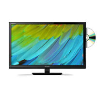 "Sharp 24"" Inch HD Ready LED TV with Freeview HD and built-in DVD player - Black"