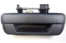 Without Keyhole Textured Black Tailgate Handle