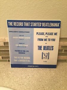 BEATLES PLEASE, PLEASE ME-FROM ME TO YOU PROMO SLEEVE VJ-581 **SEE DESCRIPTION**