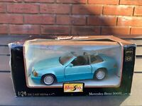 Maisto 1:24 Mercedes Benz 500SL 1989 In Its Original Box - Mint Unopened