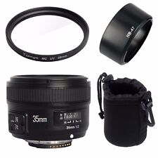 YONGNUO Yn35mm F2 Lens Wide-angle Large Aperture Fixed Auto Focus for Nikon AU