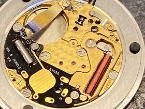 BAUME MERCIER / ETA Quartz Watch Movement 959001 959.001 FOR REPAIR or PARTS