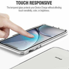 """for iPhone XR 6.1"""" Poetic 9 Hardness Tempered Glass Screen Protector Clear"""