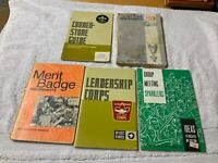Lot of 5 Vintage Boy Scouts Pamphlets Requirements Leaders Merit Badge Etc