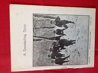A1e ephemera 1900  book plate boys snowballing